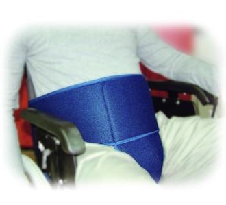 Ceinture pelvienne pour fauteuil roulant