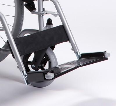 Zoom sur palettes du fauteuil roulant 708 Delight Vermeiren