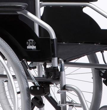 Détails du fauteuil rouant 708D