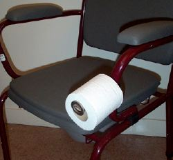 Support De Papier Toilette Pour Chaise Perce