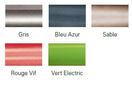 Nouveauté 2012 coloris de chassis