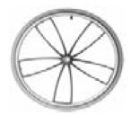 Roue Spider pour fauteuil roulant Bambino