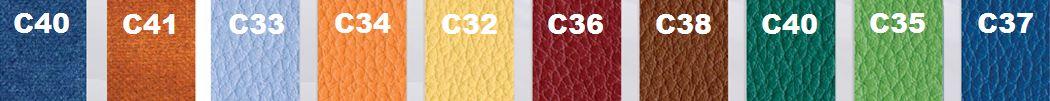 Panel de couleurs du fauteuil de repos Provence