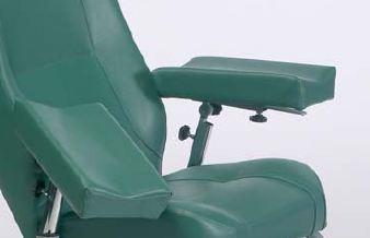 Manchettes de prélèvements pour fauteuil de repos