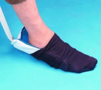 Enfile chaussette de luxe slide