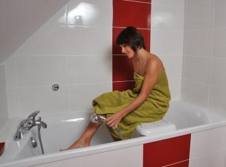 Utilisation de la planche de bain ECO