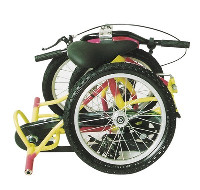 Tricycle pliable Tonicross Plus