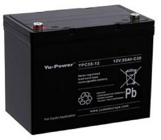 Batterie Gel 12 V 55 A