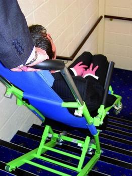 Chaise evacuation EVACUSAFE descente escalier