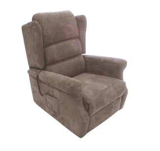 Cuir Porto Invacare Achat Relaxation Simili Taupe Fauteuil Releveur De 6b7gyvfY