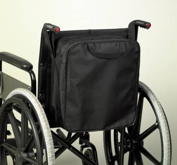 Sac adaptable sur fauteuil roulant