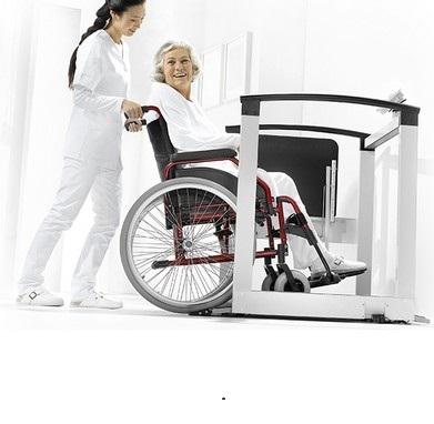 Balance de pesee fauteuil roulant