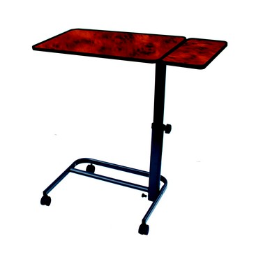 Table de lit plateau et pied inclinable avec Tablette HERDEGEN