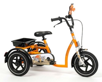 Tricycle Vermeiren Des 3 ans Modele Safari