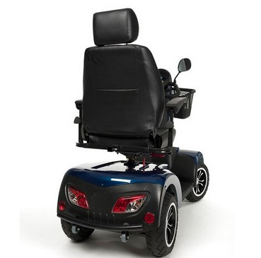 Vue arriere Scooter electrique 4 roues Electro Carpo 2 Eco