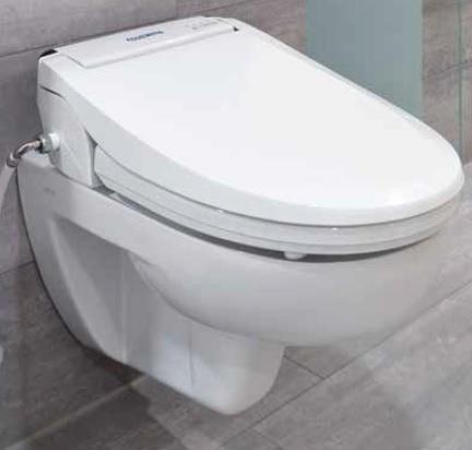 Aquatec pure bidet abattant wc lavant sechant