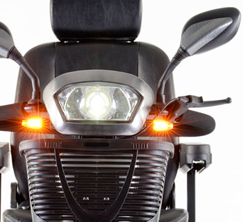 Scooter 4 roues S400 avec systeme eclairage LED