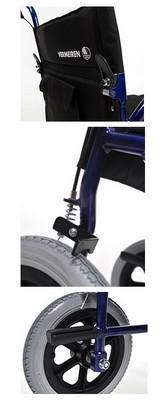 Equipement Bobby Vermeiren fauteuil de transfert leger