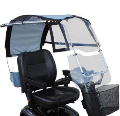 Protection pluie et soleil scooter Comet Alpine