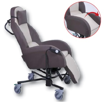 Fauteuil coquille Intergra MT