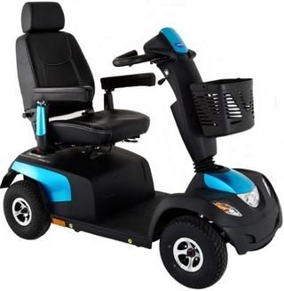 Invacare Comet Pro scooter electrique bleu