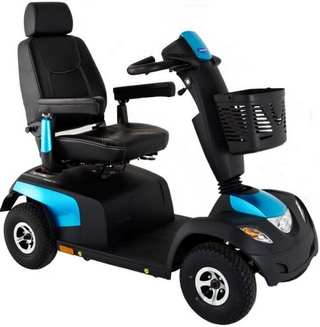 Invacare Comet Alpine plus scooter electrique