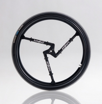 Roues arriere suspendues Softwheels Urban 2