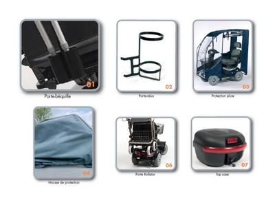 Scooter electrique 4 roues Ceres SE options