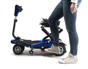 Scooter pliable Vermeiren SEDNA pliage