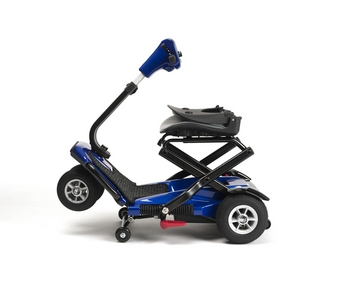 Scooter pliable Vermeiren SEDNA pliage 2