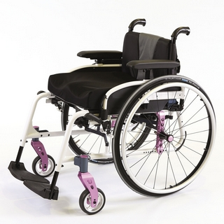 Fauteuil roulant Invacare Action 5 Teen Dossier Fixe 1