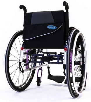 Fauteuil roulant Invacare Action 5 Teen Dossier Fixe 3