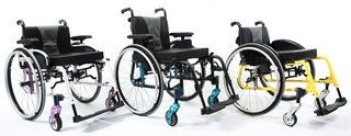 Fauteuil roulant Invacare Action 5 Teen Dossier Fixe 6
